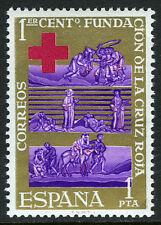 Spain 1195, MNH. International Red Cross Centenary. The Good Samaritan, 1963
