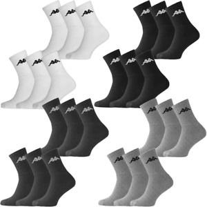 Kappa 6 Pack Socks Pair Trainer Ankle Boot Sports Retro  Mens, Womens Size