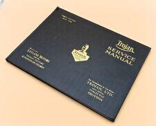 Trojan Service Manual, Third Edition May 1928
