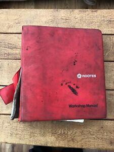Rootes Hunter Range workshop manual
