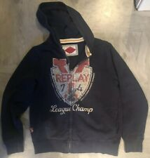 Replay Boys Hooded Jacket Age 10-12
