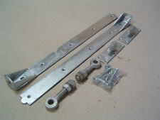 Adjustable hook and band hinges farm tractor garden gate fencing wooden gates