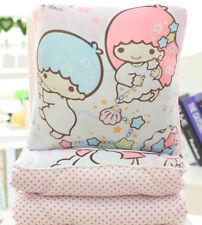 little twin stars pink Summer quilt  Blankets zip cushion pillow UQ16 FOLD
