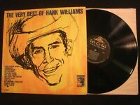 Hank Williams - The Very Best Of - 1963 Mono Vinyl 12'' Lp./ VG+/ Country Pop