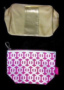 Set of 2 Shiseido Makeup Accessory Clutch Bags