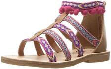 New In Box~Sugar~Baby Girl Funnelcake Gladiator Sandals~Pink Shoes~Size 6~Nib