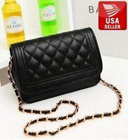 Fashion Women Lady Shoulder Bag Quilting Chain Cross Body Korean Ladies Handbag