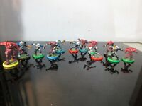 MINI FOOTBALL ROBOT FIGURES CAKE TOPPERS LOT ~
