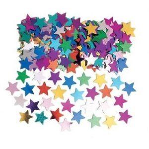 Star Shaped Confetti - Multicolour (14g Pack)