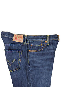 Levis Womens  501 CT Customized Tapered Blue Jeans Button Fly Dark Size (12)