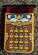 Little Professor Texas Instruments Kid's Calculator Game Working