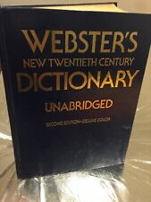 Webster's New 20th  Dictionary Unabridged 2nd Edition Color HC 1983 Over 4kg