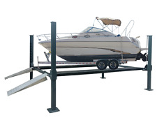 4-POST PORTABLE 4.0T EXTRA WIDE BOAT,TRAILER,CARAVAN PARKER by Hero Hoists Qld