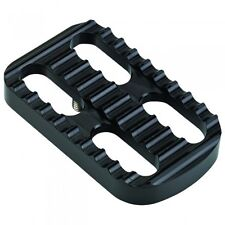 Joker Machine Harley Davidson FL Big Twin Serrated Brake Pedal Cover Black