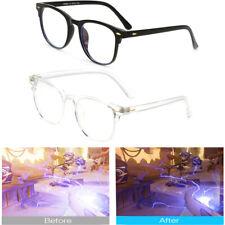 Blue Light Blocking Glasses Computer Gaming Retro Eyewear Protection Vision Care