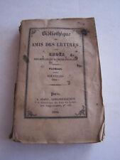 LIVRE ANCIEN POUR COLLECTION , BIBLIOTHEQUE DES AMIS DES LETTRES , FLORIAN .1834
