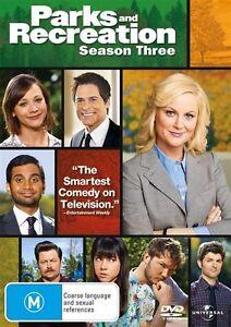 Parks And Recreation : Season 3 (DVD, 2012, 3-Disc Set)