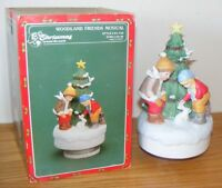 Woodland Friends Musical Christmas Around The World House of Lloyd 1988 Orig Box