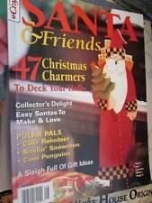 Santa & Friends Crafts Magazine 2001, Painting/Cross Stitch/Needlepoint/Toys