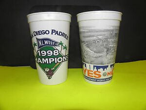 MLB- SAN DIEGO PADRES -NL WEST 1998 CHAMPIONS WORLD SERIES CUP