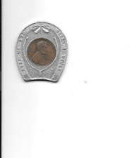 Good Luck Token from Jaffe's Men Store from Jersey Shore PA with a Wheat Penny