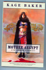 Jerry Weist Estate: Mother Aegypt & Other Stories Kage Baker 2004 1st hc Signed