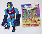 Complete 1985 TERROR CLAWS SKELETOR ACTION FIGURE Masters Of The Universe MOTU For Sale