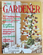 Country Living Gardener Magazine 2001 Christmas Decorating Topiary Amaryllis