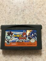 Sonic Battle (Nintendo Game Boy Advance, 2004) GBA SP Authentic-Tested-Working
