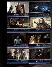 Game of Thrones season 6  100 card base  set + PROMO P1 +WRAPPER