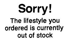 Wall Sticker Banksy ' Sorry! The lifestyle you ordered...' Graffiti Quote