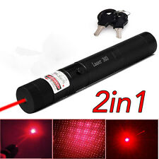 Military Powerful 10Miles 650nm Red Laser Pointer visible Beam Lazer Pen 1mw