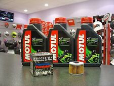 KIT TAGLIANDO 3L MOTUL 5000 10W40 FILTRO ML16815 HONDA	XR R Supermotard	400	1996