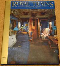 ROYAL TRAINS - Patrick Kingston - 1985 hardback book - Railways