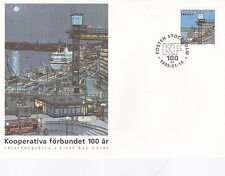 Sweden 1999 Centenary of Co-operative Union FDC Unadressed Mint