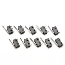 New 10PCS Tact Switch KW11-3Z 5A 250V Microswitch 3PIN Buckle TO