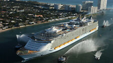 """Royal Caribbean Oasis of the Seas - 42"""" x 24"""" LARGE WALL POSTER PRINT NEW."""