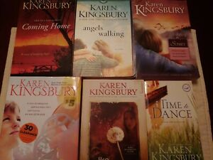 Karen Kingsbury Books (Lot of 8) See first 3 pics!!