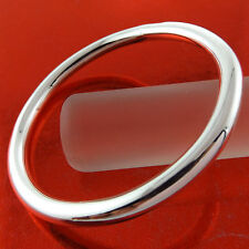 BANGLE BRACELET GENUINE 925 STERLING SILVER S/F SOLID HEAVY CUFF GOLF DESIGN