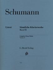 Henle Urtext Schumann Complete Piano Works - Volume 2