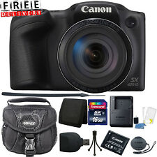Canon Digital Camera Professional Set Accessories Kit Set Tripod Case HD 20 MP