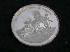 More details for solid silver medallion the northamptonshire regiment 45 grammes
