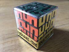 Rare Rubiks Style Sealed Rattlesnake Puzzle 1980s