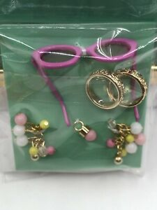 Poppy Parker Pink Lemonade Integrity Toys Doll Outfit Jewelry Sunglasses Set