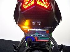 NINJA ZX6R SS FENDER ELIMINATOR w/ LED Turn Signals & Brake 09-16 ZX-6R SMOKE