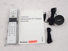 NEW Lenovo USB IR Receiver OVU430006/01 + Lenovo Remote + IR Wire