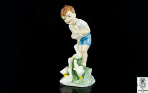 Royal Worcester Figurine Young Farmers Boy  Johnnie ' by Freda Doughty. 3433