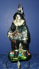 Polonaise Glass Ornament: Oz- Scarecrow Full Figure, AP1062, New in Box