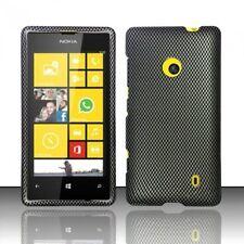 Design Crystal Hard Cover Case for Nokia Lumia 521 - Carbon Fiber