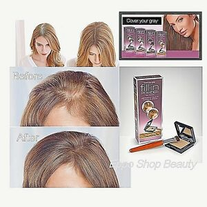 Cover Your Gray Instantly FILL-IN POWDER WITH PROCAPIL Hair Color (4 colors)